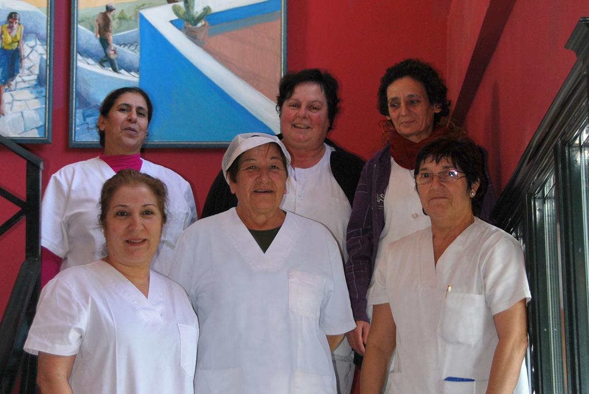 Equipo de profesionales Residencia de la tercera edad Las Adelfas